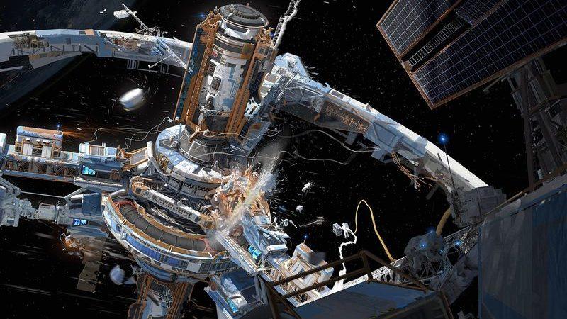 Китай планирует построить гигантскую станцию на орбите Земли