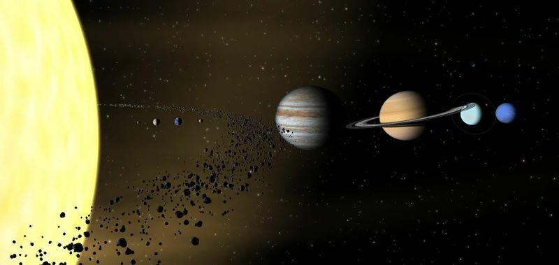 В главном поясе астероидов обнаружили странные объекты с окраин Солнечной системы