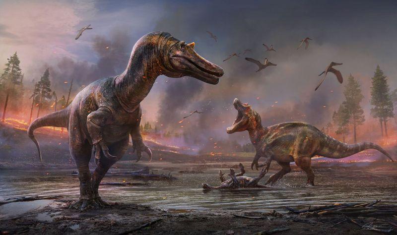 «Адская цапля с крокодиловым лицом»: британские ученые обнаружили 2 новых вида хищных динозавров