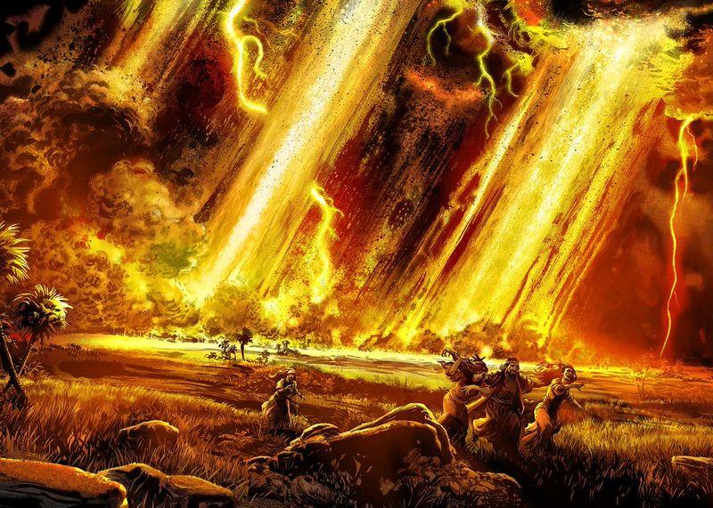 Уничтожение библейского города Содома связали с падением метеорита